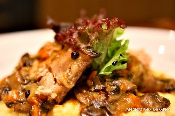 Pollo Alla Cacciatore E Riso Alla Parmigiano