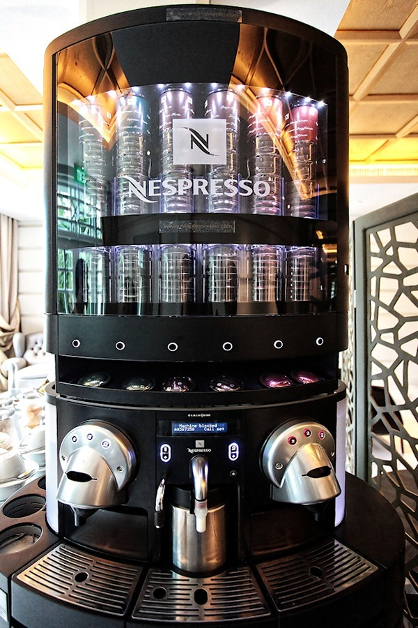 THE NESPRESSO EXPERIENCE AT HOTEL FORT CANNING SINGAPORE  -> Nespresso For Business