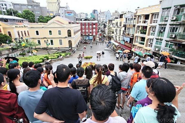 Macau-tourists