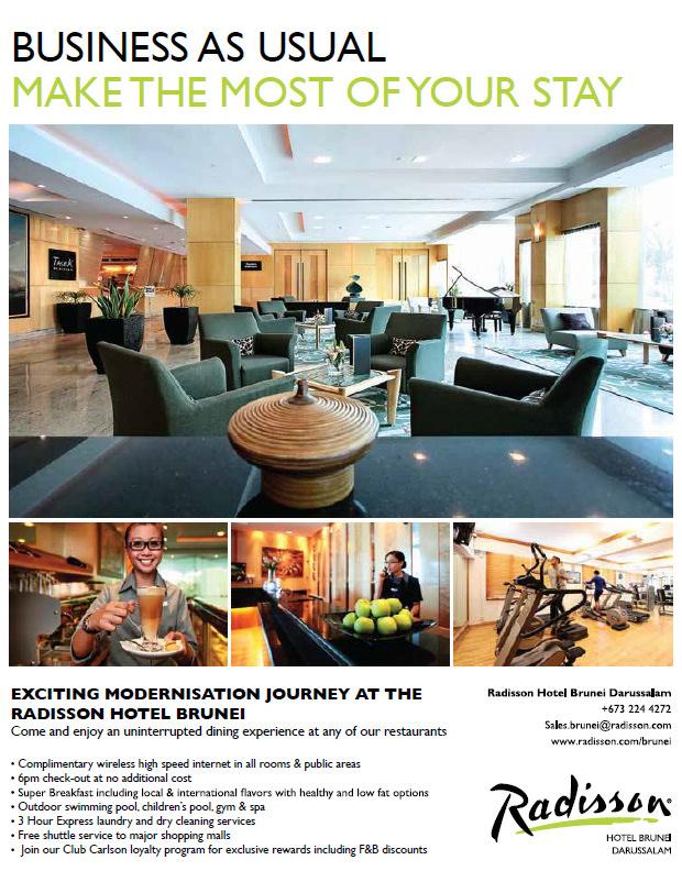 Published: biG Magazine – Radisson Hotel Brunei Darussalam – shimworld