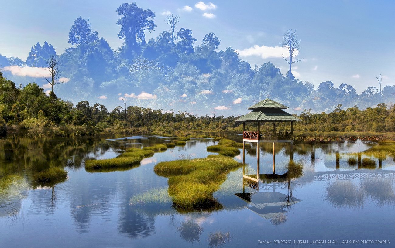 Double Exposure Luagan Lalak Photography Landscape Shimworld
